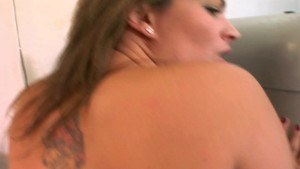 Girl goes for ride on stiff cock