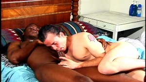 Hot White Guy Sucks Hot Black Guy