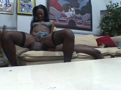 Picture Hot black chick gives him what he likes PT.1...