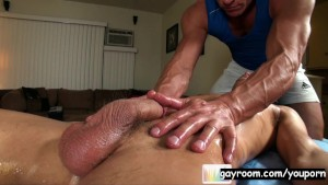 Brice Oily Blowjob