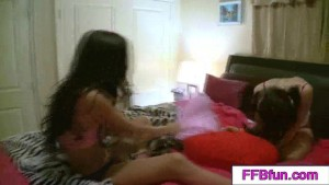 2 petite teen girlfriends having girl fun