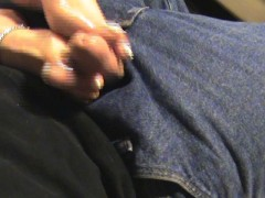 Hot foot job from wife