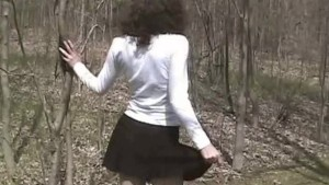 Orgasming In the Woods