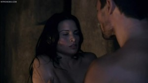 Katrina Law laying naked exposing her body