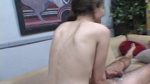 Girl with small tits wants his head held tight PT.1/2