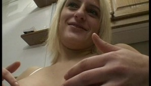 Blonde euro chick showing off - Punami Films