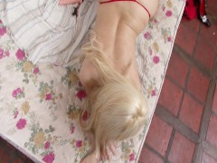 Blonde latina playing with her pussy - Latin-Hot