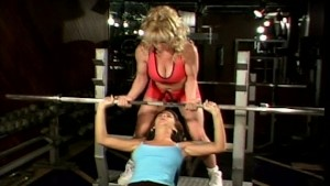 Workout session turns into rough lesbian fuck