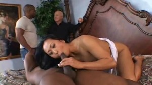 Asian Wife Sucks Black Cock, Hubby Likes!