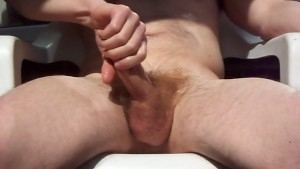 Big Cock Outdoor Masturbation