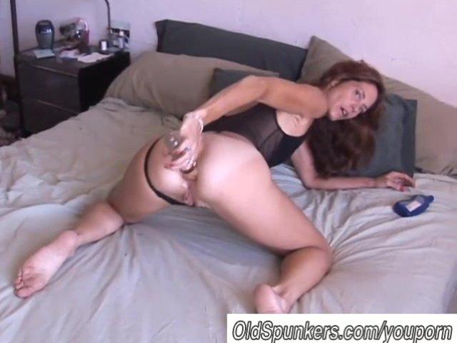 mature doppio anale