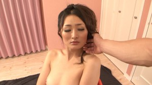 Japanese honey gets oiled up and fucked