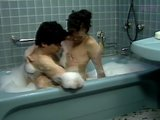 Asians Have Sex In Soapy Bath