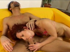 Picture Redhead MILF fucked by big dick and dildo
