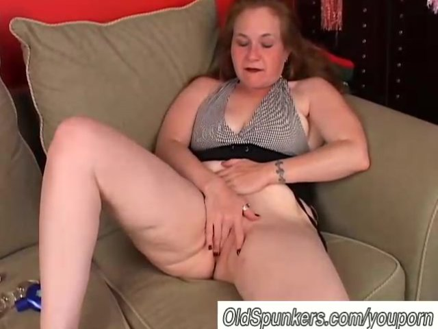 Hot redhead mother sucks dick and gets fucked by not her son 7