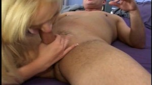 Blonde anal freak