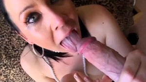 Julie Night's Crazy Cock Gobbling