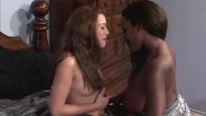 Black white lesbians comfort each other