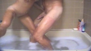 Couple Fucks in Bathtub