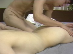 Shaved Asian pussy eaten and fucked