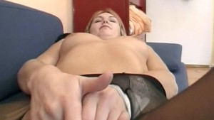Fucked through her pantyhose