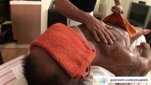 Older Massage Turns Kinky