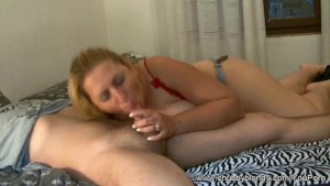 Red Blowjob from Italy
