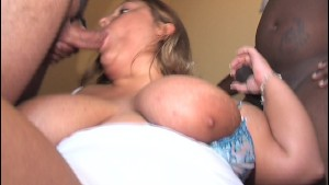 German BBW gets gangbanged