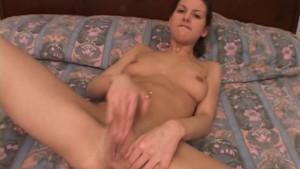 Slutty babe sucking a small cock