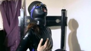 Latex sub does what she s told