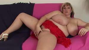 BBW Juliana with massive tits
