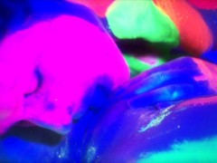 Picture Gen Padova and Lain Oi in UV bodypaint - Mav...