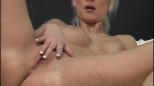 Blonde MILF plays with her nice body - Acheron