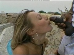 Taking a huge black cock - KayTel Video Productions