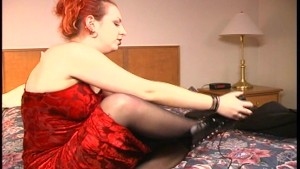 Racy redhead shows us what she's got - Brookland Brothers