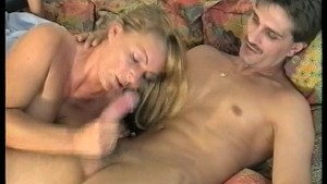 Blonde Cougar Sucks Him Dry - DBM Video