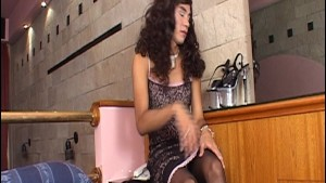 Latin transvestite gets his as pounded - Latin-Hot