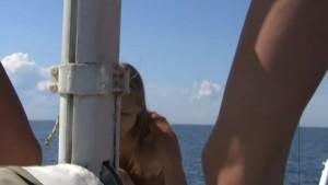 Lesbian pussy dream boat