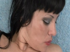 Claudia plays with a toy - Latin-Hot