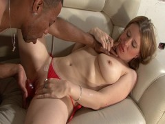 White spanish girl gets a big black cock - Latin-Hot
