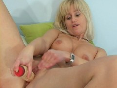 Blonde cutie masturbates herself - ANT Studio