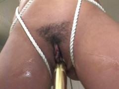 Bound girl gives good head - Venality Productions