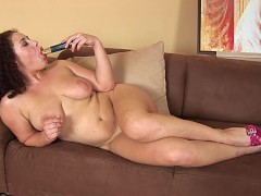 Medina fucks herself with dildo - CzechSuperStars