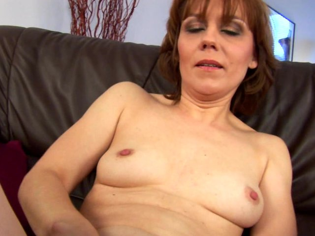 Caught wife masterbating again 8