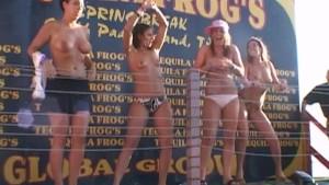 Amazingly Hot Girls Wet T-Shirt Contest
