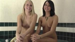 Super Hot Roommates Taking a Bath Part 1