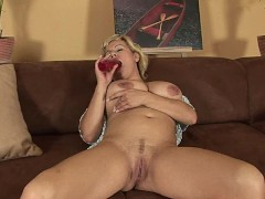 Blonde Vanda with huge...