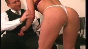 Showing off his pierced cock in the tattoo parlor - DBM Video
