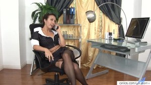 Milf office sex with boss