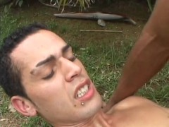 Brazilian outdoors sex -  Pau Brasil